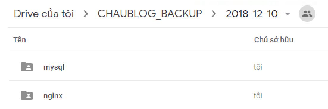 Hướng dẫn Auto Backup VPS lên Google Drive với Rclone
